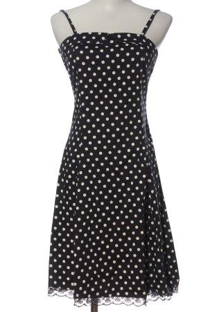 Vero Moda Trägerkleid schwarz-weiß Allover-Druck Elegant