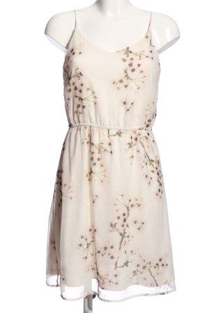 Vero Moda Trägerkleid creme Blumenmuster Elegant