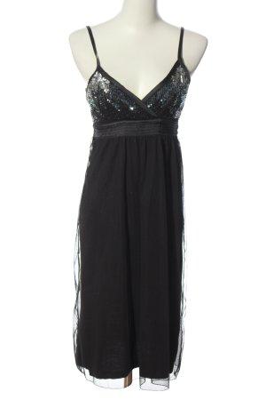 Vero Moda Trägerkleid schwarz-blau Elegant