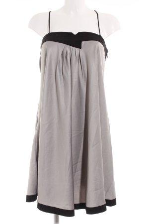 Vero Moda Trägerkleid schwarz-silberfarben
