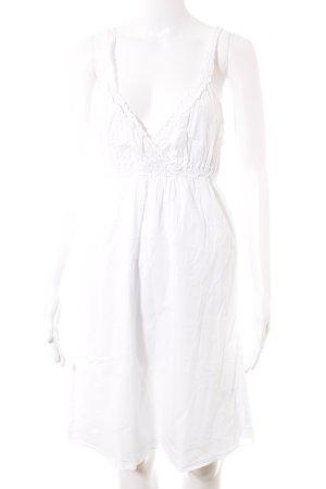 Vero Moda Trägerkleid weiß