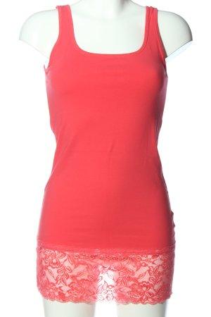 Vero Moda Trägertop rot Casual-Look