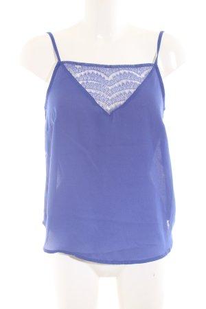 Vero Moda Trägertop blau Casual-Look