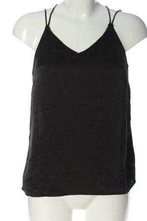 Vero Moda Top met spaghettibandjes zwart casual uitstraling