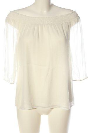 Vero Moda Blusa transparente crema elegante