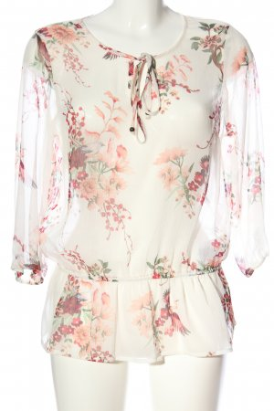 Vero Moda Transparenz-Bluse Blumenmuster Business-Look