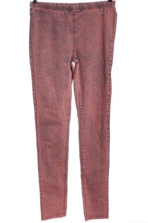 Vero Moda Treggings rosa moteado look casual