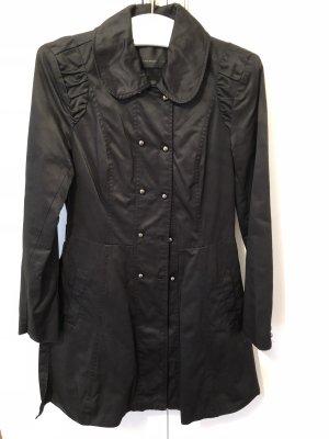 Vero Moda Trenchcoat Kurzmantel Mantel Schwarz Größe S Top!!!