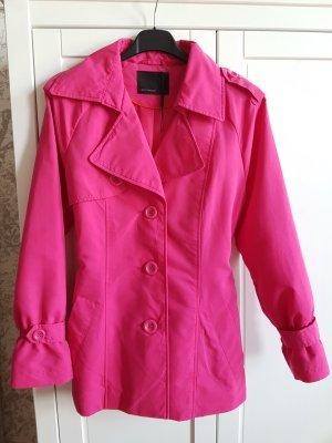 Vero Moda Trenchcoat mit Gürtel in einem knalligen Pink,xs