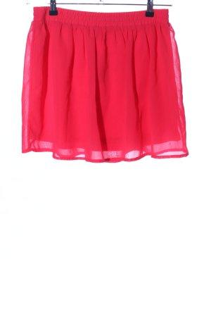 Vero Moda Falda de tul rojo look casual