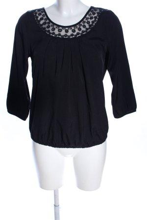 Vero Moda Tunikabluse schwarz Casual-Look