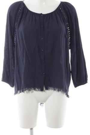 Vero Moda Tunikabluse dunkelblau Casual-Look