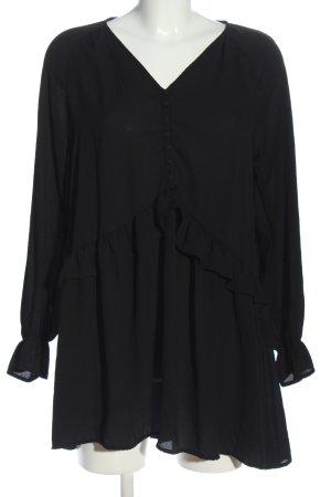 Vero Moda Vestido tipo túnica negro look casual