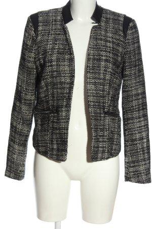 Vero Moda Tweedblazer schwarz-wollweiß meliert Casual-Look
