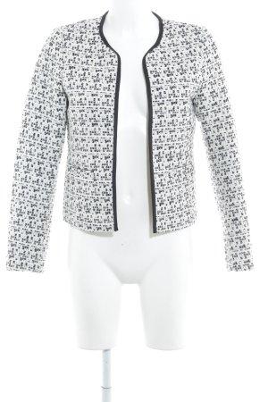 Vero Moda Tweedblazer wollweiß-schwarz Brit-Look