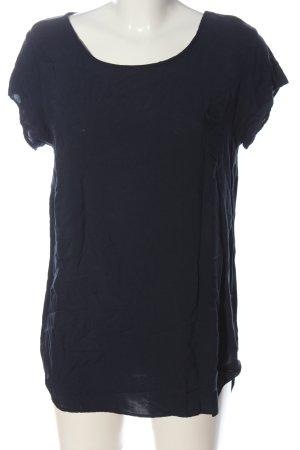 Vero Moda Boothalsshirt blauw casual uitstraling