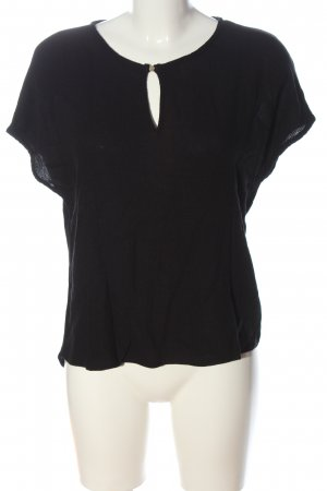Vero Moda Boothalsshirt zwart casual uitstraling