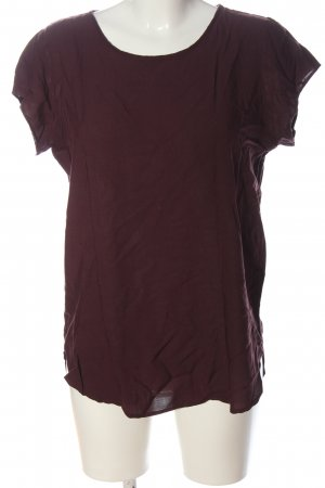 Vero Moda Boothalsshirt rood casual uitstraling