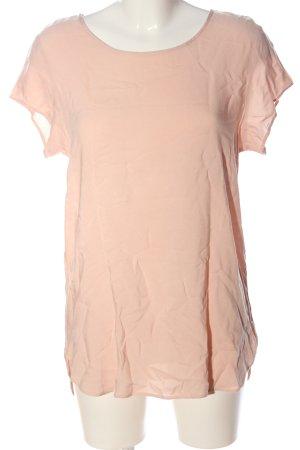 Vero Moda Boothalsshirt nude casual uitstraling