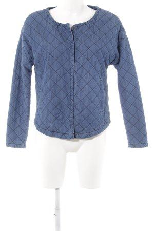 Vero Moda Übergangsjacke schwarz-stahlblau