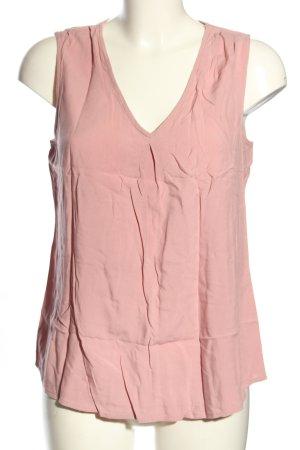 Vero Moda V-Ausschnitt-Shirt pink Casual-Look