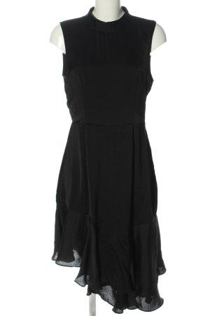 Vero Moda Vokuhila-Kleid schwarz Party-Look