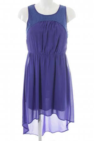 Vero Moda Robe bas asymétrique bleu élégant