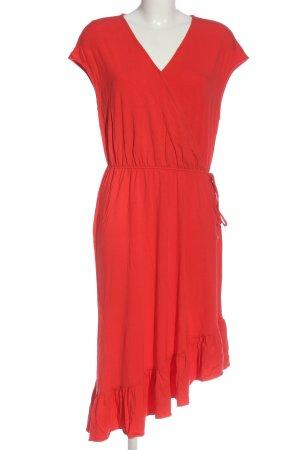 Vero Moda Vokuhila-Kleid rot Casual-Look