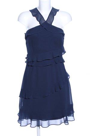 Vero Moda Flounce Dress blue elegant