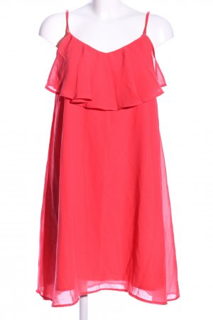 Vero Moda Flounce Dress red elegant