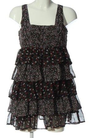 Vero Moda Sukienka z falbanami Na całej powierzchni W stylu casual