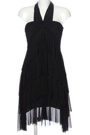 Vero Moda Volantkleid schwarz Elegant