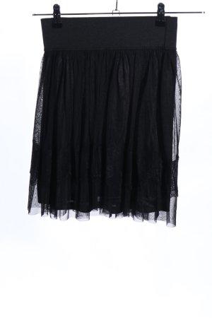 Vero Moda Falda con volantes negro elegante