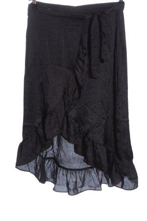 Vero Moda Volanten rok zwart casual uitstraling