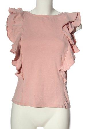 Vero Moda Volanttop pink Casual-Look