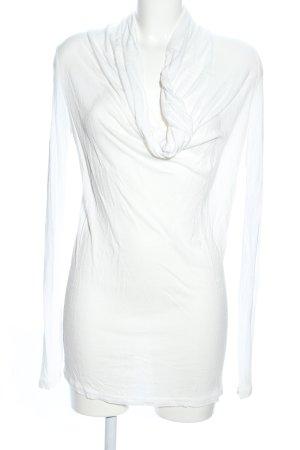 Vero Moda Maglia con scollo a cappuccio bianco stile casual