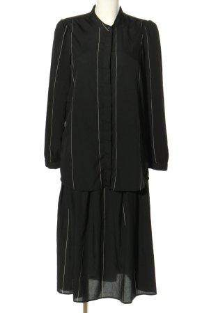 Vero Moda Web Twin Set schwarz-weiß Streifenmuster Casual-Look