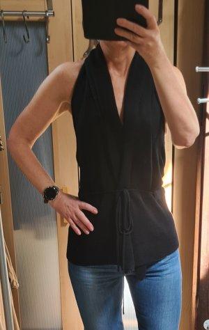 Vero Moda Cache-cœur en tricot noir coton