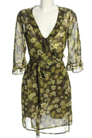 Vero Moda Kopertowa bluzka Wzór w kwiaty W stylu casual
