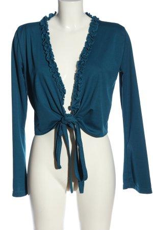 Vero Moda Wickel-Bluse blau Casual-Look