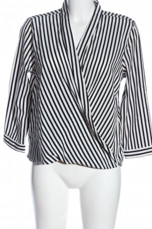 Vero Moda Wraparound Blouse black-white allover print casual look