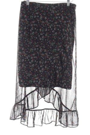 Vero Moda Falda cruzada estampado floral look casual