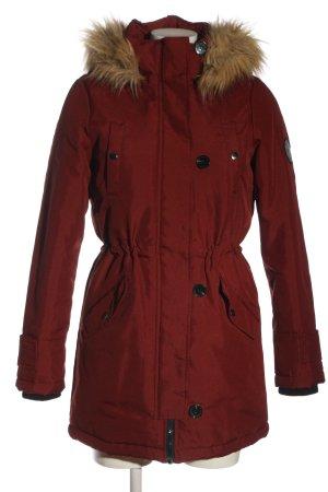 Vero Moda Winterjacke rot Casual-Look