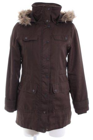 Vero Moda Winterjacke braun Casual-Look