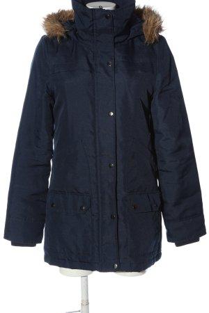 Vero Moda Winterjacke blau Casual-Look