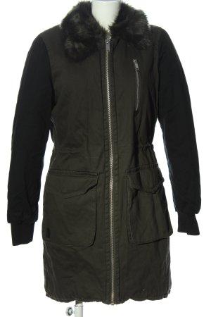 Vero Moda Winterjacke khaki Casual-Look