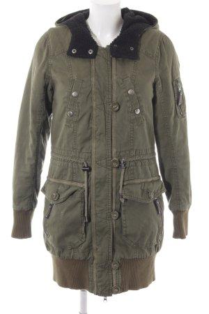 Vero Moda Winterjacke waldgrün Casual-Look