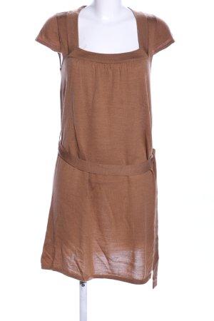 Vero Moda Robe en laine bronze moucheté style décontracté