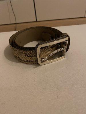 Vero Piumino Leather Belt multicolored
