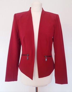 Vero Moda Short Blazer dark red